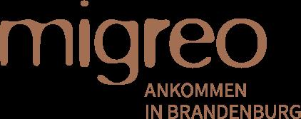 Migreo – Ankommen in Brandenburg Logo