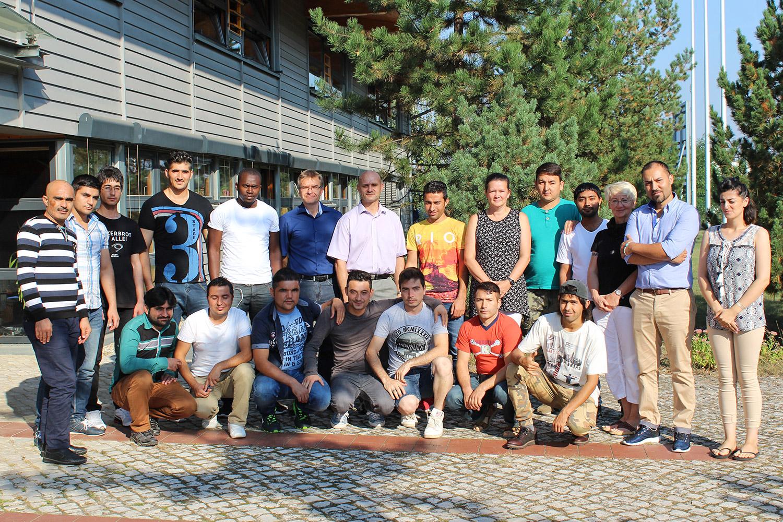 """Qualifizierungsinitiative """"Perspektive für Flüchtlinge im Land Brandenburg"""""""